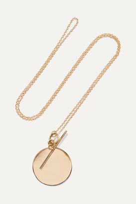 Loren Stewart - 14-karat Gold Necklace - one size