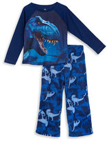 Petit Lem 2 Piece Dinoland Pajama Pants with Top Set
