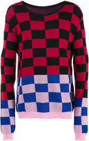 Haider Ackermann checked jumper - men - Cotton/Cashmere - M