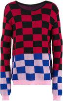 Haider Ackermann checked jumper - men - Cotton/Cashmere - S