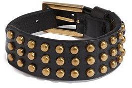 GUESS Studded Buckle Strap Bracelet