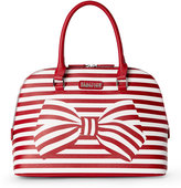 Kenneth Cole Reaction Coral Reef & White Knots Away Dome Satchel