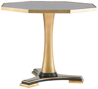 Mr & Mrs Howard Wheat Side Table - Gold/Antiqued Mirror
