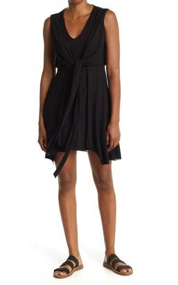 AllSaints Jayda Jersey Tie Waist Dress