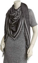 Givenchy Bambi Negative Printed Wool & Silk-Blend Twill Scarf