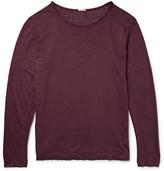 Massimo Alba - Slub Linen T-shirt