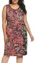 Nic+Zoe Etched Floral Dress