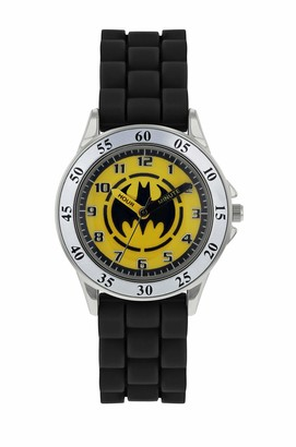 Batman Boys Analogue Quartz Watch with Rubber Strap BAT9522