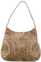 Etro Leather-Trimmed Hobo
