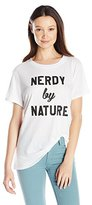 Sub Urban Riot Sub_Urban RIOT Women's Nerdy by Nature Loose Fit Graphic Tee