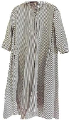 Uniqlo White Cotton Dress for Women