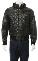 Belstaff Leather Aviator Jacket