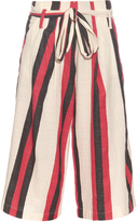 Ace&Jig Baltic striped cotton culottes
