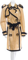 Moschino Mesh Trench Coat w/ Tags