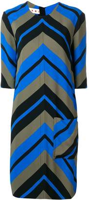 Marni optical print dress