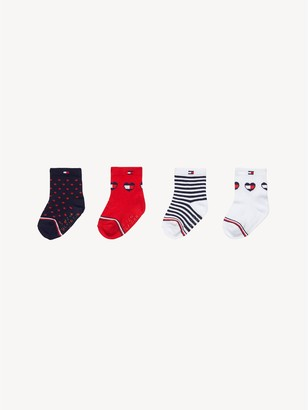 Tommy Hilfiger TH Baby Sock 4PK