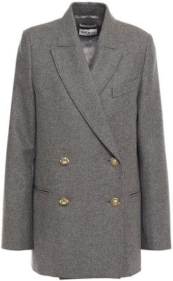 Paul & Joe Scott Double-breasted Wool-blend Felt Coat