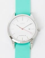 Silver & Mint Watch