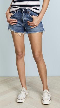 AGOLDE Parker Vintage Loose Fit Cutoff Shorts