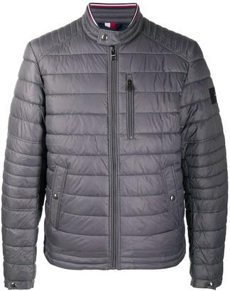 Tommy Hilfiger Biker Collar Puffer Jacket