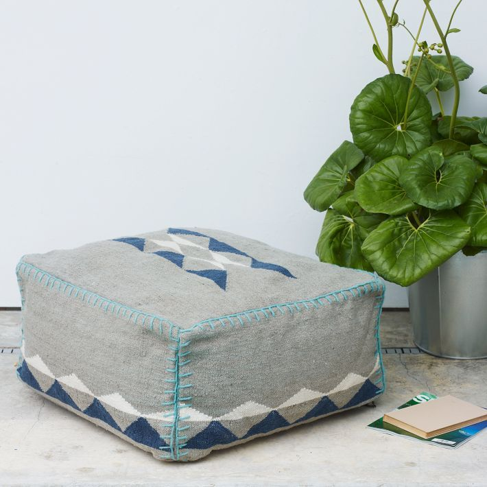 west elm Tierra Outdoor Pouf