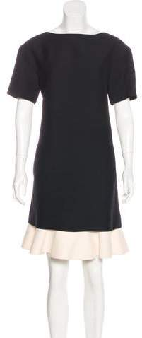 Valentino Wool & Silk-Blend Dress