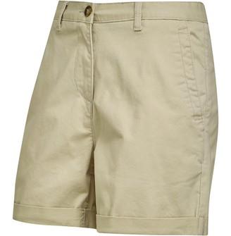 Onfire Womens Twill Chino Shorts Stone