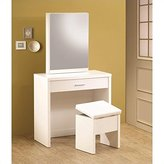 Coaster Home Furnishings 300290 Contemporary Vanity, White