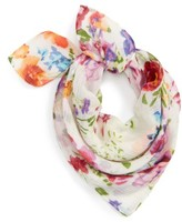 Sole Society Women's Floral Neck Scarf