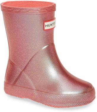 Hunter Classic Supernova Glitter Waterproof Rain Boot