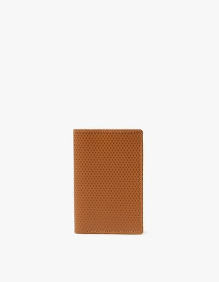 Comme des Garcons Women's Luxury Leather Line SA6400LG Wallet in Beige