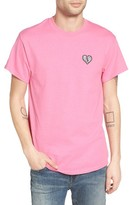 Men's The Rail Crewneck T-Shirt With Embroidery