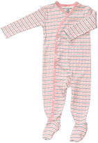 Petunia Pickle Bottom Pink Sweet Celebration Organic Cotton Footie Pajamas