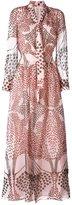 Paul & Joe patterned long dress