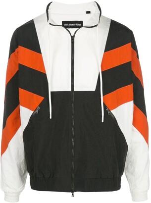 God's Masterful Children Superstar striped jacket