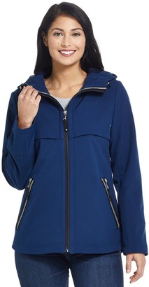 Gallery Women's Hooded Soft Shell Jacket