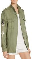 Rails Elliott Embroidered Army Jacket