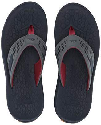 Quiksilver Men's LAYOVER Travel Sandal Blue/Black