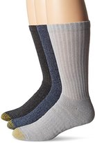 Gold Toe Men's Arch 360 Sierra Crew Socks (Pack of 3)