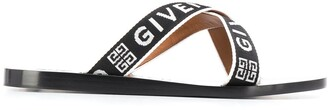 Givenchy Crisscross Logo Sandals