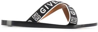 Givenchy crisscross logo sandals
