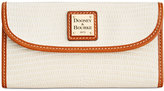 Dooney & Bourke Lizard-Embossed Continental Clutch Wallet, A Macy's Exclusive Style