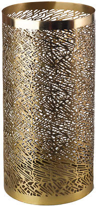 Pols Potten Pierced Candle Holder - Brass - Large