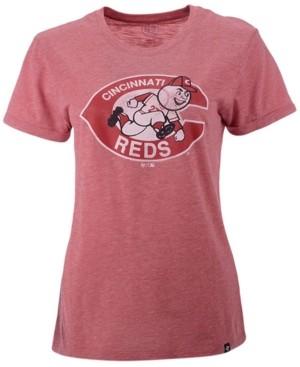 '47 Women's Cincinnati Reds Throwback Match Tri-blend Hero T-Shirt
