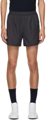 Thom Browne Grey Flyweight Tech 4-Bar Running Shorts