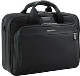 Briggs & Riley 'Medium' Ballistic Nylon Briefcase - Black