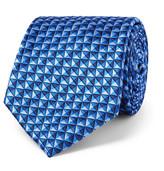 Sulka - 8cm Silk-jacquard Tie