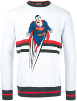 Iceberg Superman motif jumper - men - Cotton - M