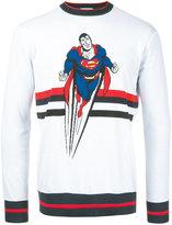 Iceberg Superman motif jumper - men - Cotton - M