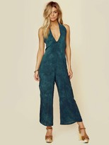 Blue Life Electra Tie Front Jumpsuit in Emerald Coast